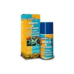 MARLY AIRCO & HABITACLE NETTOYANT DESINFECTANT ET ANTI ODEURS 150ml