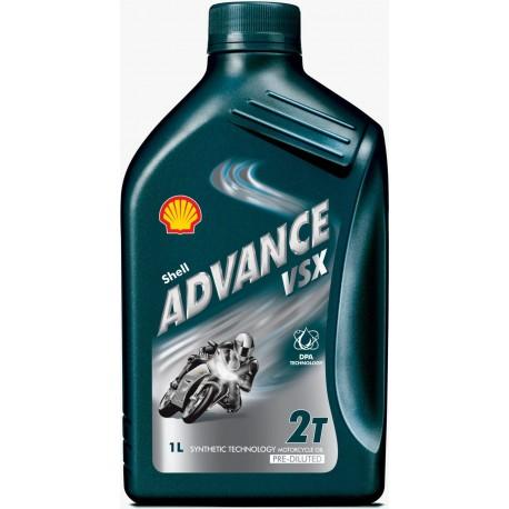 HUILE MOTEUR SHELL ADVANCE VSX 2T (1L)