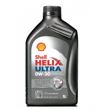 SHELL HELIX ULTRA ECT C2 / C3 0W30