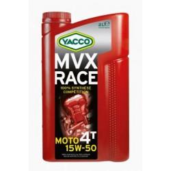 HUILE MOTEUR YACCO MVX RACE 4T 15W50