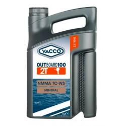 HUILE MOTEUR YACCO OUTBOARD 100 2T