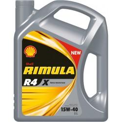HUILE MOTEUR SHELL RIMULA R4 X 15W40
