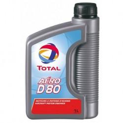 HUILE MOTEUR TOTAL AERO D 80