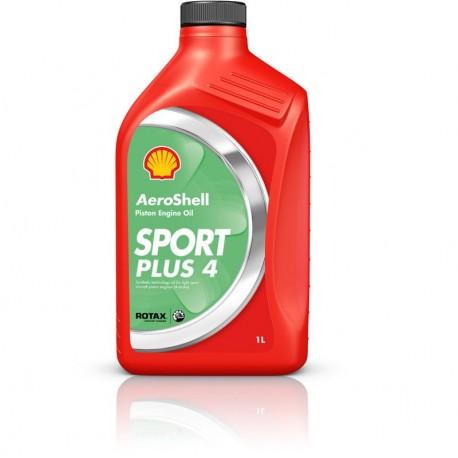 HUILE MOTEUR SHELL AEROSHELL OIL SPORT PLUS 4