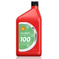 HUILE MOTEUR SHELL AEROSHELL OIL 100