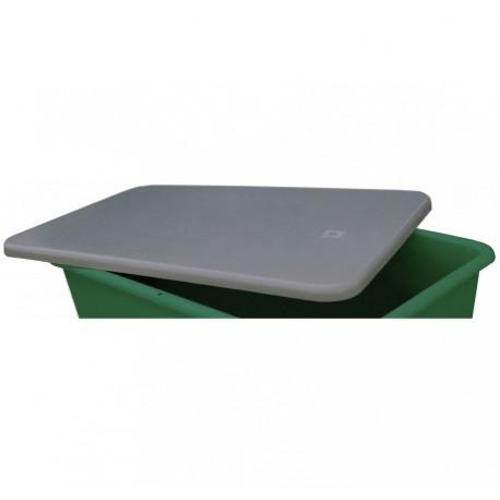 couvercle plat gris 3300 litres